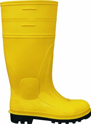 Stahlsohle 41 Baustiefel gelb Paul Größe Farbe Stahlkappe EN20345 PVC Sicherheitsstiefel ISO EN 2155 1200 S5 0 41 X7FWnFa