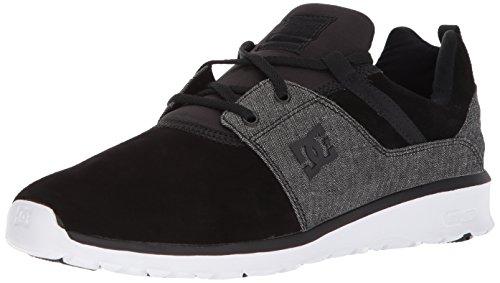 DC Men's Heathrow SE Casual Skate Shoe Black Wash