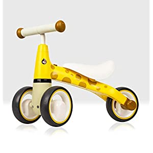 Beehive Toys & Gifts My First Bike, Giraffe, Baby Walker Balance Bike, Baby and Toddler Ride on Trike for ages 12 – 24…