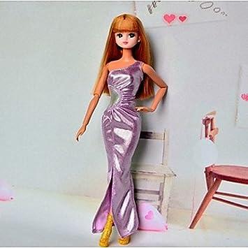 Barbie Meerjungfrau mit Charme Lila Polyester Sexy Party-Kleid ...