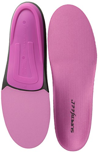 Superfeet Women's Berry Premium Insoles,Berry,C: 6.5 - 8 US Womens