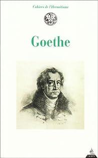 Goethe par Johann Wolfgang von Goethe