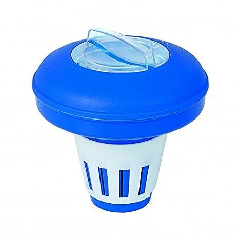 Dosificador distribuidor flotante para pastillas de cloro piscina Dicloro: Amazon.es: Bricolaje y herramientas