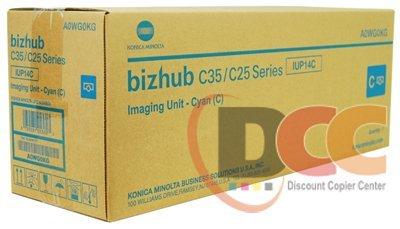 Genuine Konica Minolta IUP14C Cyan Imaging Unit for Bizhub C25 C35 C35P A0WG0KG