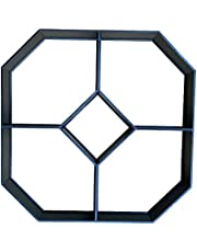 Generic Plastic MOLDS Casting Concrete Paving Garden Paths Stone for Patio, Court Yards, Patios and Walks,40x40x4cm / 15.74x15.74x1.57inch
