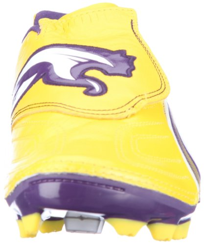 Puma v1.11 K i FG 102327, Scarpe da calcio uomo Giallo (Gelb (Vibrant Yellow-parachute Purple 03))