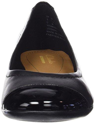 ClarksAtomic Haze - Zapatillas Mujer Negro (Black Combi Lea)
