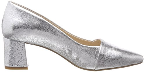 Toe L The Closed Women''s Allison Shoe Silver Bear Heels HnYRIqqCd