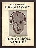 """Milton Berle (Debut)""""EARL CARROLL VANITIES"""" Max"""