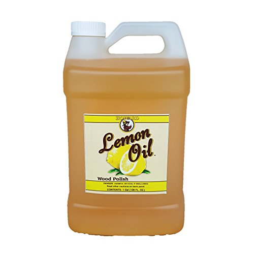 Howard Lemon Oil Wood Cleaner 128 oz Gallon, Clean Kitchen Cabinets, Clean Wood Floors, Lemon Wood Cleaner by Howard Products