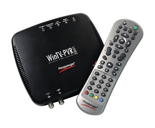 (Hauppauge-WinTV-PVR-USB 2.0 TV Tuner/Personal Video Recorder)