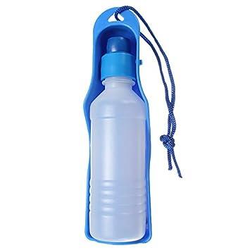 Casa de Dios Pet Mascotas Dog Perro Gato Viaje Agua Dispensador Alimentación Botella 250ml