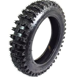 Qind Brand 3.00-9 Knobby Dirt Bike Tire