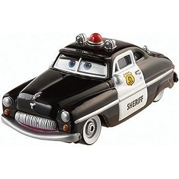 Amazoncom DisneyPixar Cars Sheriff Diecast Vehicle Toys  Games