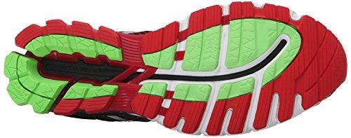 Chaussure De Running Gel-kinsei 6 Asics Mens Noir / Argent / Rouge