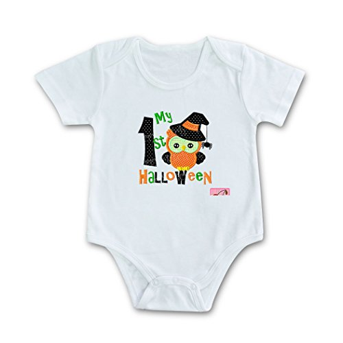 Baby's First Halloween Bodysuit Envelope button Climbing Clothes ()