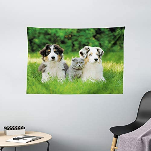 Ambesonne Dog Tapestry