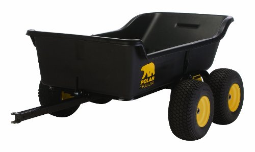 Polar Trailer 8262 HD 1500 Tandem Axle Utility Cart, 98 by 54 by 31-Inch by Polar Trailer