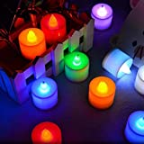 Flameless Candles Flameless Led Tealight Candles Lamp Wedding Party Neon Party Supplies Halloween Led Wy1f