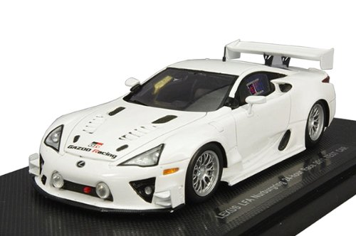 1/43 レクサス LFA ニュルブルクリンク 24時間レース 2011 テストカー レジンモデル ホワイト 44636の商品画像