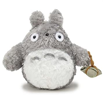 Studio Ghibli My Neighbor Totoro fluffy large Totoro S stuffed height 15cm   Amazon.co.uk  Toys   Games 602838f71