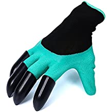 Garden gloves with built in claws for Gardening gloves amazon