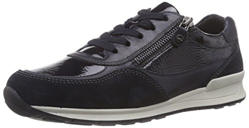 ara Women's Helsinki Low-Top Trainer Blue - Blau (Ozean,blau -05)