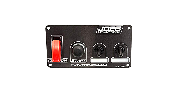 JOES Racing Products Switch Panel Ing//Start w //2 Acc Switches No Light