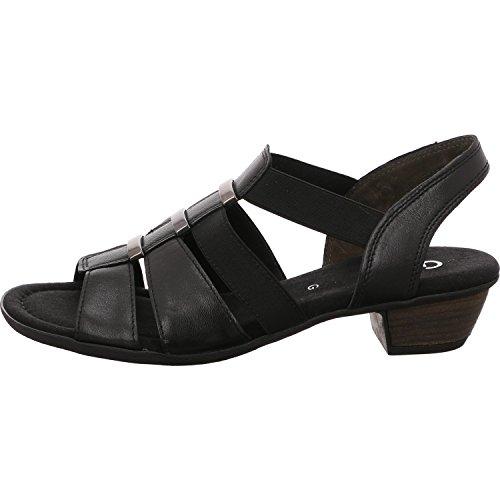 Gabor 82.472.57, Sandales Pour Femme Noir