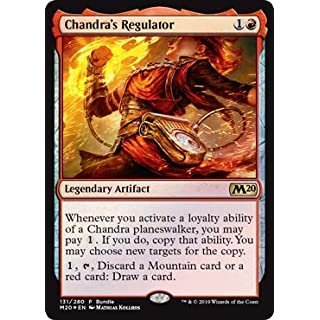 Magic: The Gathering - Chandra's Regulator - Core Set 2020 Bundle Promo