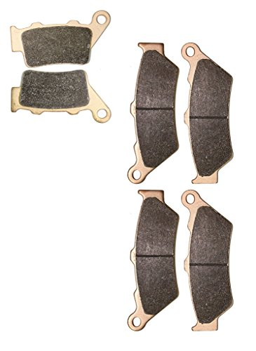 CNBK Sintering Disc Brake Pads Set fit BMW Street Bike F800 F800GS F 800 cc 800cc GS 2008 2009 2010 2011 2012 2013 2014 2015 08 09 10 11 12 13 14 15 6 Pads
