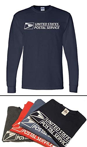 Unisex USPS Postal Post Office Long Sleeve Tee Tshirt Gildan Cotton by PCA Etc