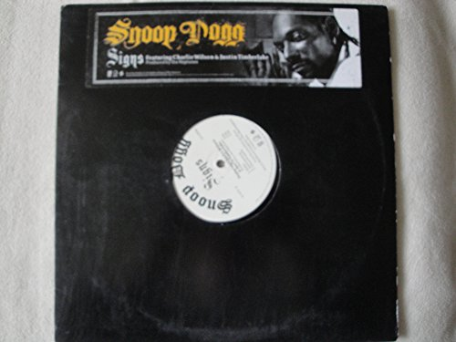 Snoop Dogg - Snoop Dogg Signs Featuring Charlie Wilson & Justin Timberlake 12 Single Vinyl 2005 Geffen Records Gefr 11349-1 From R & G - Zortam Music