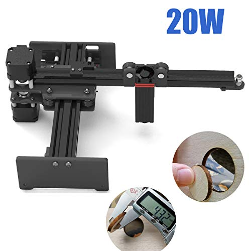 20W Laser Cutter Portable Laser Engraving Machine Mini Carver Desktop