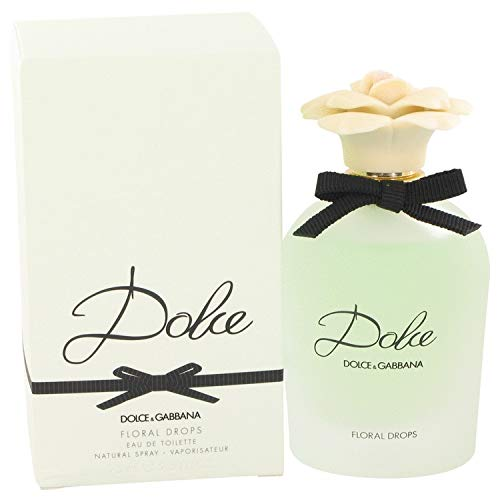 Dòlçë Floral Drops by Dòlçë & Gábbáná for Women Eau De Toilette Spray 2.5 oz (Dolce Und Gabbana Floral)