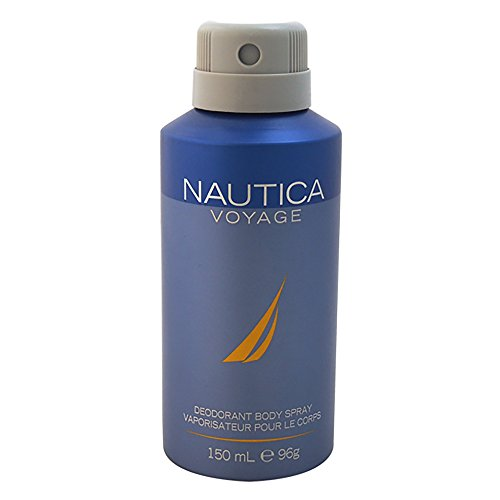 NAUTICA Voyage Deodorant Body Spray, 5 Fluid Ounce
