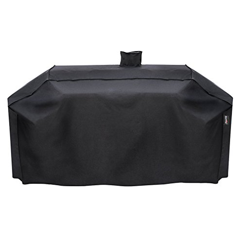 Stanbroil Outdoor Heavy Duty Waterproof Grill Cover for Smoke Hollow Gas/Charcoal Grill and More, All Weather Protection, Black