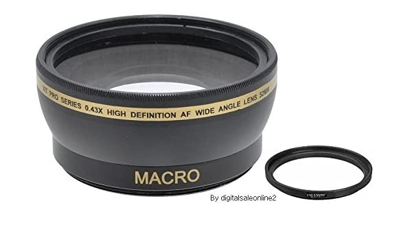40.5mm Compatible HD Telephoto /& Wide Angle Lens for Samsung NX500 NX3300 EV-NX500 for 20-50mm