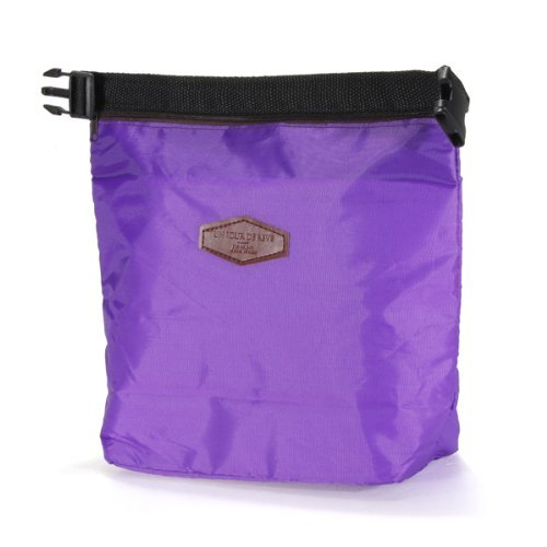 Water /& Wood Insulated Waterproof Lunch Bag Storage Picnic Pouch