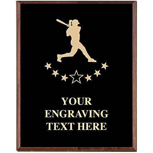 - Crown Awards Softball Plaques, Custom Engraved Softball Player Trophy Plaque Award, Great Customizable Softball Coach Team Gift Prime