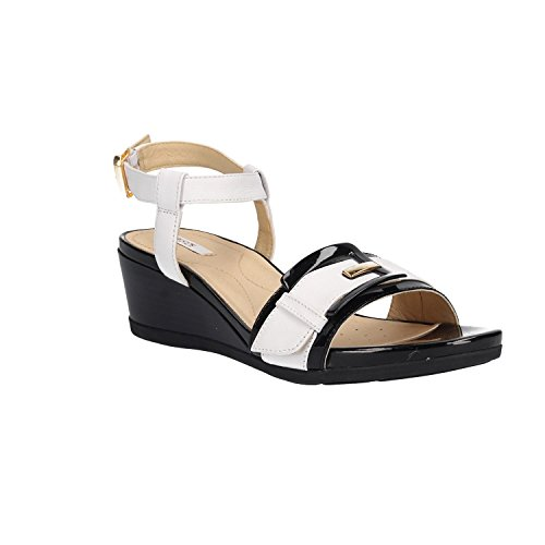 GEOX Sandale 8502 D828QD c0404 Blanc