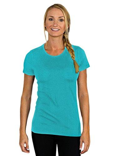 WoolX Women's Addie T-Shirt- Paradise- (Womens Wool 2 T-shirt)