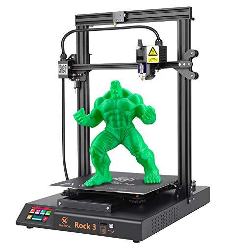 MINGDA 3D Printer Rock 3 – FDM 3D Printing Machine with Dual Z, Direct Drive Extruder, Large Build Plate: 320x320x400mm…