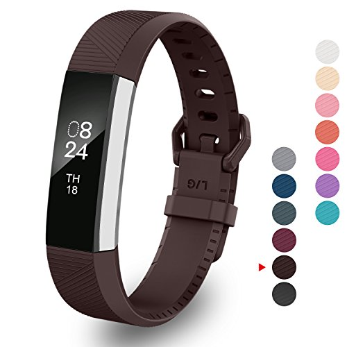 Greeninsync Band for Fitbit Alta, Alta HR Classic Replacement Bands Large  Accessory Watch Band for Fitbit Alta/Fitbit Alta HR Wristbands W/Same Color