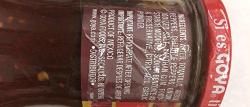 Goya Hot Salsa Taquera Classic Mexican Taco Sauce 17.6 Oz. Pk Of 3. by Goya (Image #3)