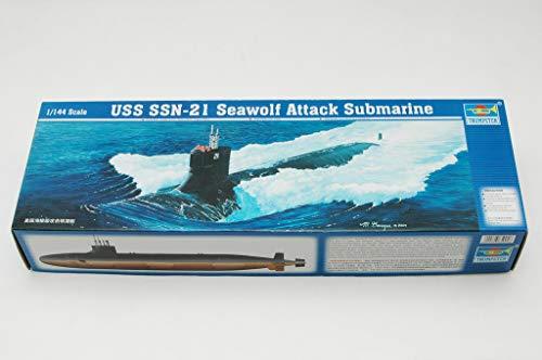Trumpeter 1/144 USN Seawold SSN21 Attack Submarine Model Kit