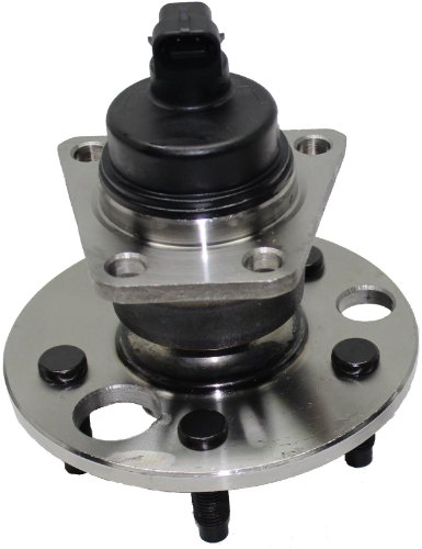 Brand New Rear Wheel Hub and Bearing Assembly for Beretta, Cavalier, Corsica, Skylark, Sunfire 5 Lug W/ABS 512001 ()