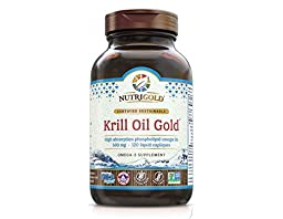 Nutrigold Krill Oil Gold, 500mg, 120 capsules