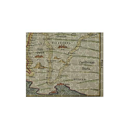 - Media Storehouse 252 Piece Puzzle of Antique map of holy Land with Egypt and Israel (13667369)