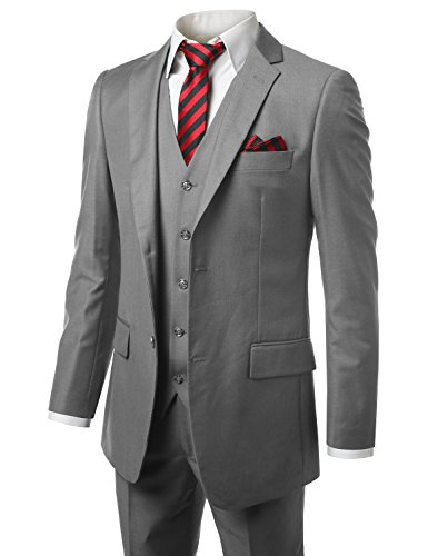 mondaysuit-men-modern-fit-3piece-suit-blazer-jacket-tux-vest-trouser-gry-38r-32w